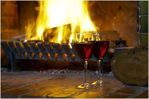 WorldMark Ballarat fireplace