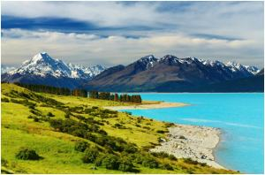 Mount Cook and Pukaki Lake