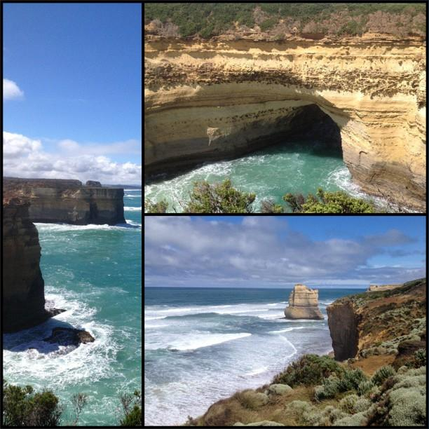 Great Ocean Road - Gibsons Steps & Mutton Island