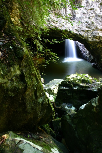 Natural Bridge Waterfall Cave - Springbrook National Park