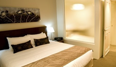 Master bedroom at Wyndham Resort & Spa Dunsborough