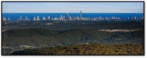 Views of the Gold Coast from Mt Tamborine!