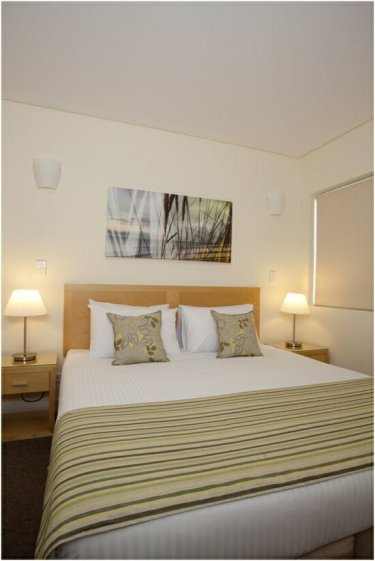 Master bedroom at Wyndham Coffs Harbour - Treetops