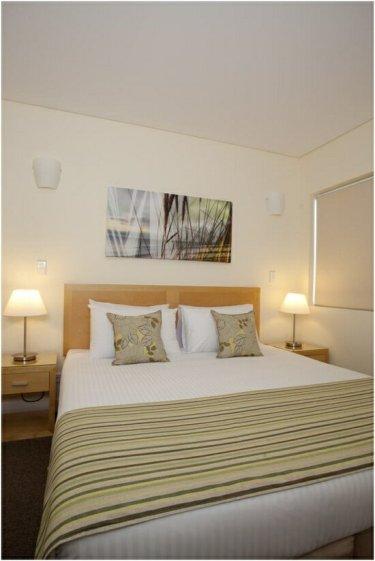 Master bedroom at Wyndham Coffs Harbour - Treetops