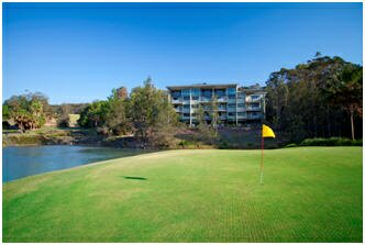 Wyndham Coffs Harbour - Treetops golf course