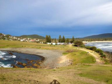 Village of Crescent Head is nestled between the creek and the rugged seashore