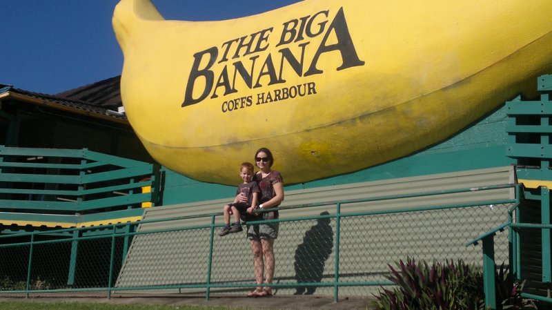 Visit to The Big Banana - Coff's Harbour