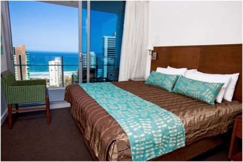 Wyndham Surfers Paradise bedroom