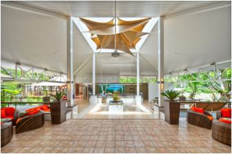 Ramada Port Douglas foyer