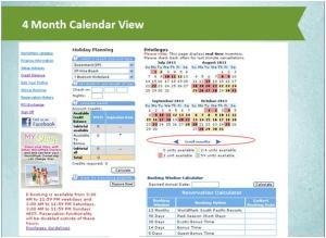 4 month calendar view 25062013
