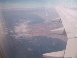 Birds eye view of LA