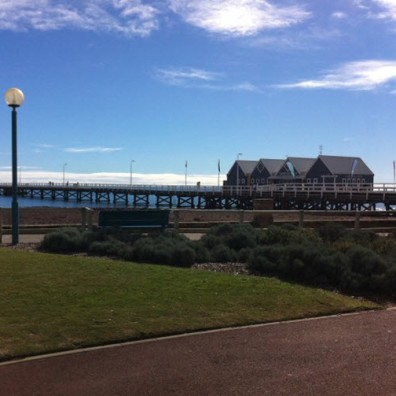 A short stroll along the Busselton Jetty