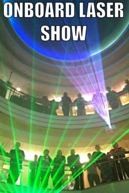 Onboard Laser Show