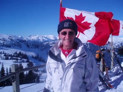 Keith enjoying Whistler