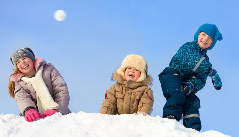 All is Fair in love and snowball fights!