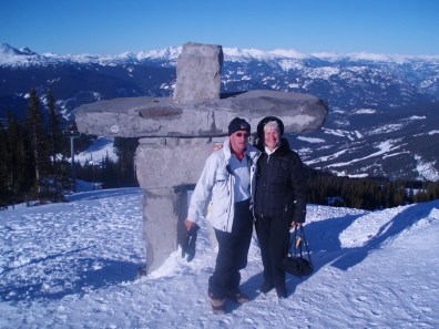 On top of Whistler
