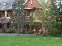 A glimpse of part of the Ballarat Resort building