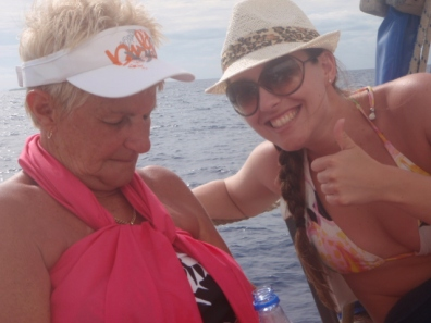 Cruise in Fiji - BIg Day Out, resting on the boat so the party can continue at the Resort.