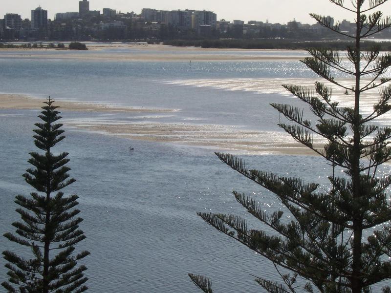 Golden Beach view.