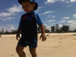 On holiday at Wyndham Kirra Beach