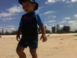 On holiday at Wyndham Kirra Beach