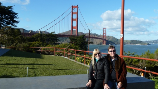 Gleaming Golden Gate