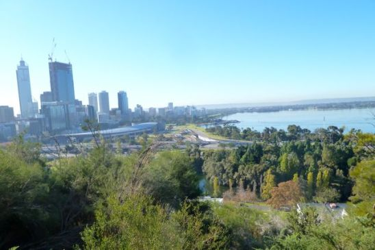 Kings Park, with sensational views of Perth, is a short stroll from The Outram.