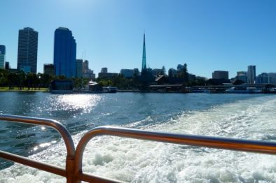 One of the best ways to get to Fremantle is via the Swan River. Cruises take about an hour and the train brings you back into the centre of the city.