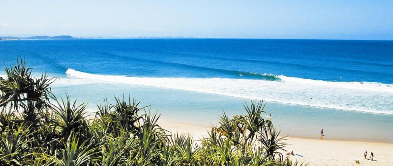 Kirra Beach ... view from 'the Eagle'