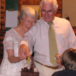 Family - Grandparents celebrate 50th Wedding Anniversary