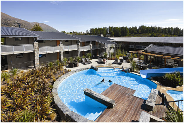 Wyndham Wanaka pool | WorldMark South Pacific Club by Wyndham