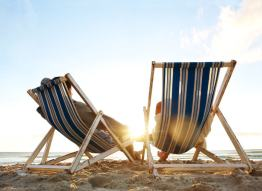 Beach Chairs for two