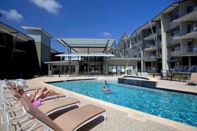 Wear the kids out in the pool - Wyndham Coffs Harbour - Treetops