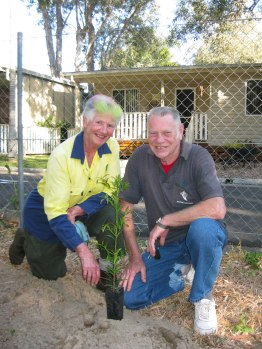 Landcare volunteers were happy with the results.