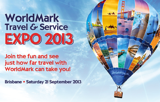 WorldMark Travel & Service Expo 2013. Join the fun to see just how far travel with WorldMark can take you!