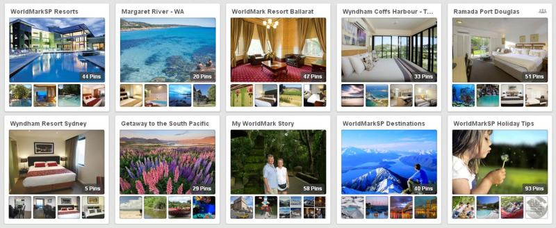 WorldMarkSP Pinterest Board