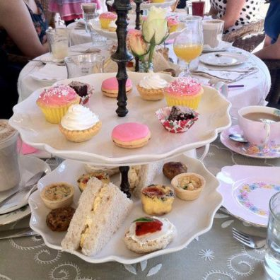 High Tea at Ladybird's Cafe.