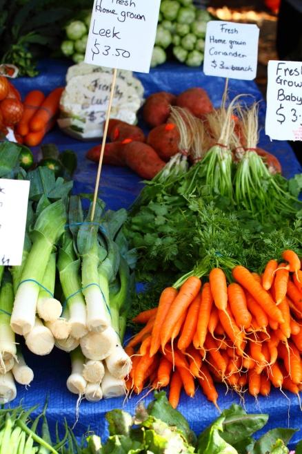 Organic Vegetables - Salamanca Markets