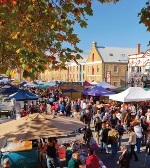 Salamanca Markets - Tasmania