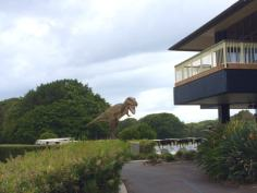 Jeff the T-Rex at Palmer Coolum Resort