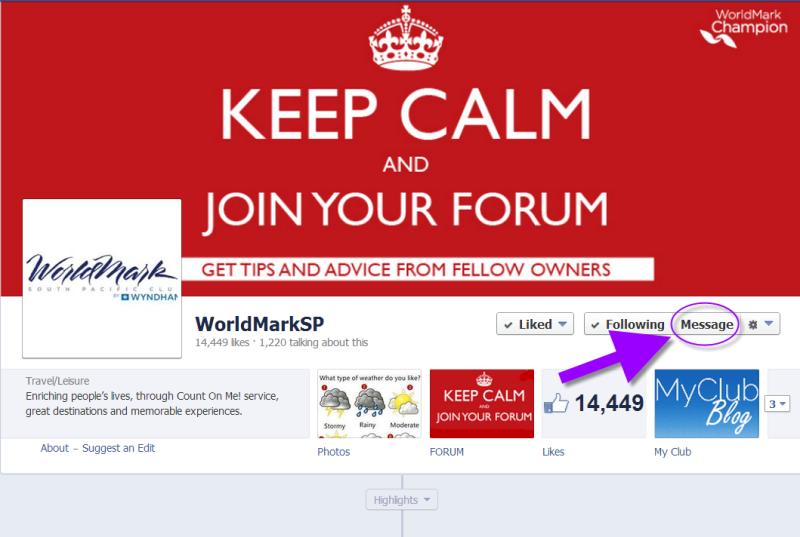 Send a Private Facebook Message