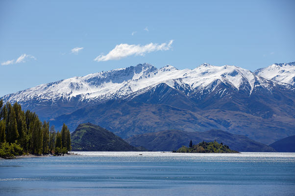 Wanaka's mountain range, New Zealand