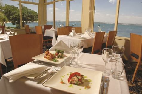 Lunch with a view at Catch at Shoal Bay