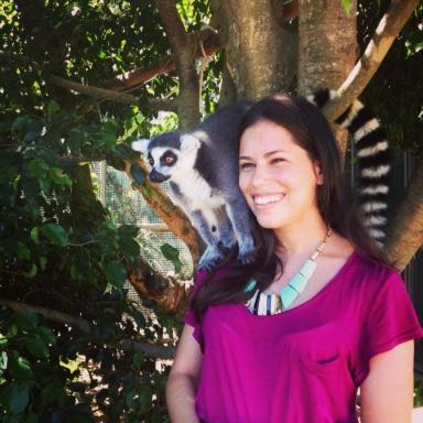 Lemur encounter at Australia Zoo