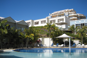 The main pool at Ramada Shoal Bay