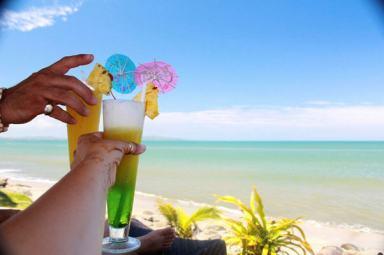 Cocktails at Wyndham Resort Denarau Island, Fiji